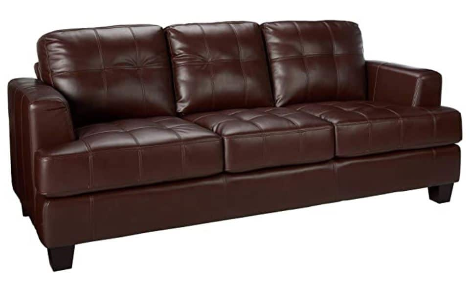 17 Most Comfortable Leather Sofa That